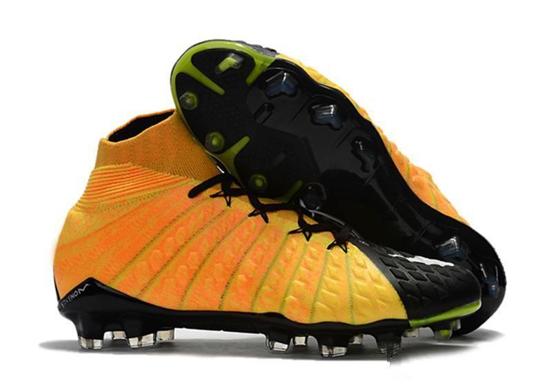 best website a3cc5 f186a 2019 New Hypervenom Phantom III DF FG Men's Soccer Shoes High Ankle Rising  Fast Pack Footabll Shoes Men 3D Soccer Boots Neymar Soccer Cleats