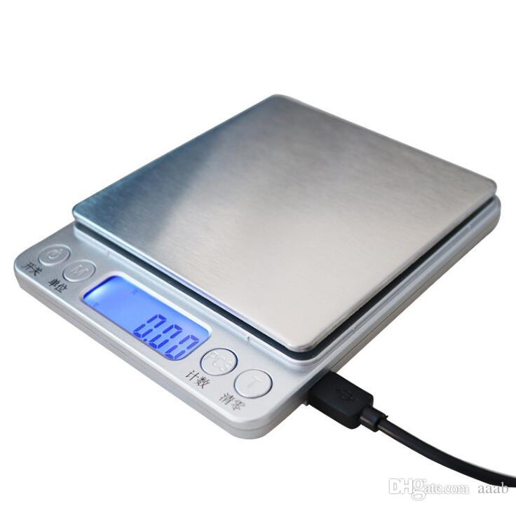 New Usb Powered Digital Kitchen Scale Balance Multifunction Food Scale For Baking Cooking Household Weigh Electronic Scale