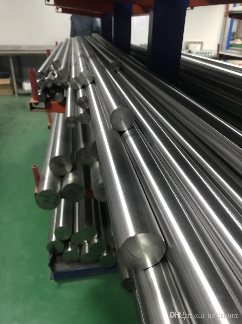 Titanium Round Rod Bar, TA2  In stock metal material Superelastic Nickel  Titanium Bar & Shape Memory Alloy