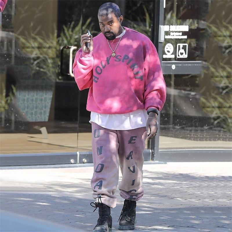81814658 2019 2019 Kanye West Sunday Service Holy Spirit CPFM.XYZ Sweatshirt Women  Men Hoodies Tie Dyeing Fashion Casual Hoodie Pullover From Bida Jany, ...