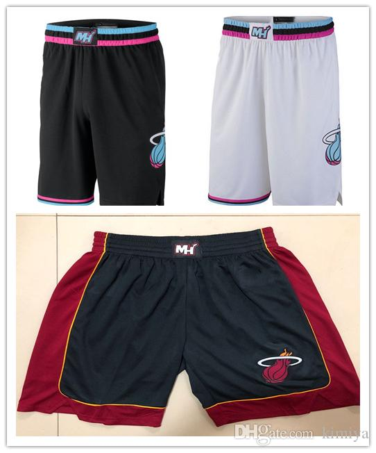 huge selection of d7743 a5b24 Men's Miami MIA Heat jersey 2018/19 Statement Edition Swingman Basketball  Shorts