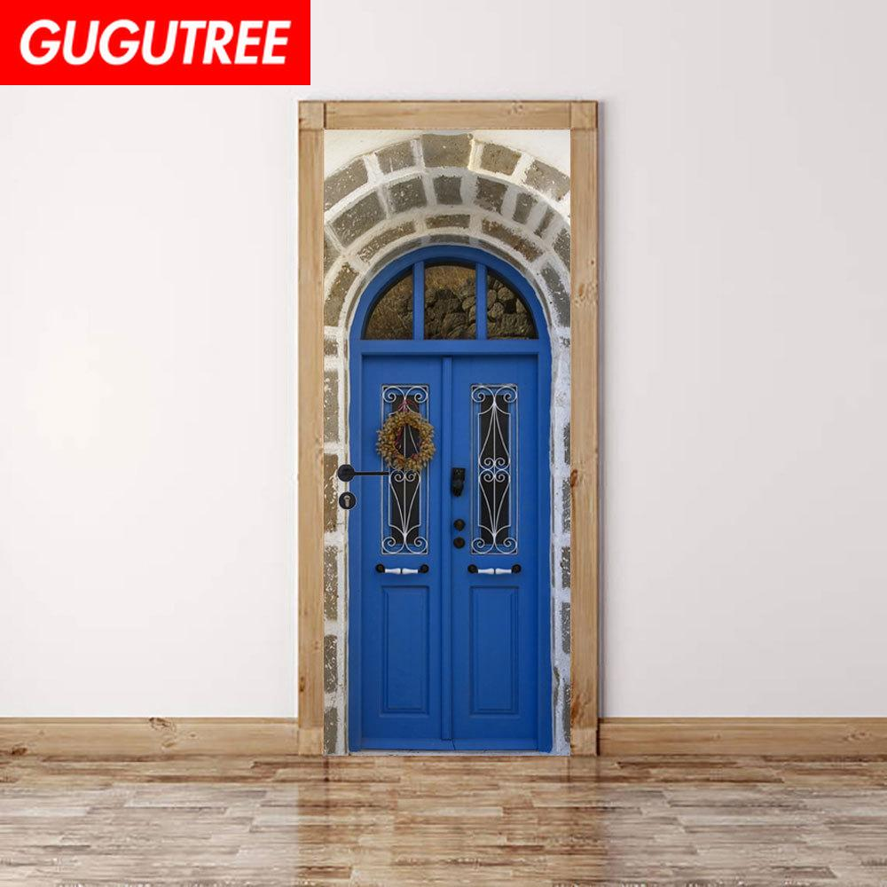 Decorate Home 3D church wall door sticker decoration Decals mural painting Removable Decor Wallpaper G-779