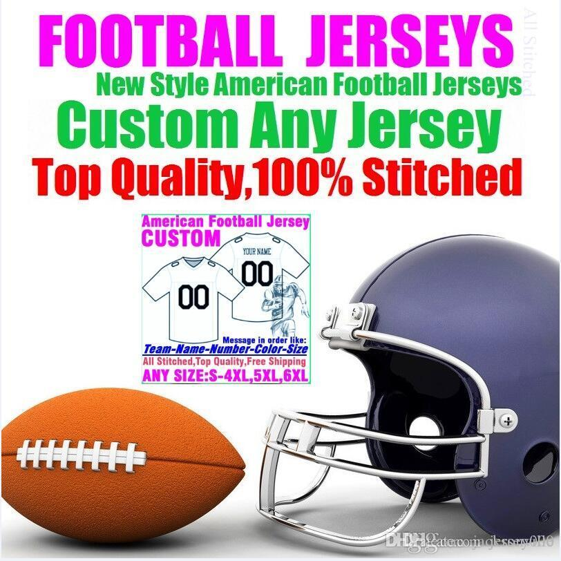 Personalized american football jerseys Custom Tennessee Denver college authentic cheap baseball basketball hockey jersey 4xl 5xl 8xl man new