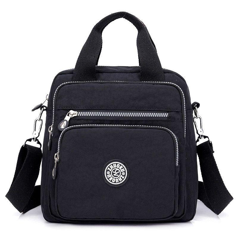 Women Messenger Bags Light Travel Handbag Waterproof Nylon Double Shoulder  Bags Casual Quality Crossbody Bag Lady Flap Tote Fashion Bags Designer  Handbags ... f5807a3fbca7b