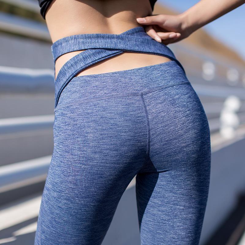 2aa5cd869588d New Sexy Training Women's Sports Yoga Pants Leggings Elastic Gym ...