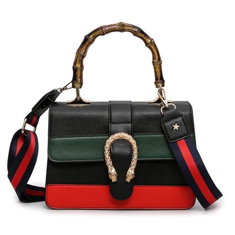 b1706c2cd83a Luxury Handbags Women Bags Designer High Quality PU Leather Lady Totes  Fashion Patchwork Crossbody Shoulder Bags For Women 2018 Handbags Wholesale  Purses ...