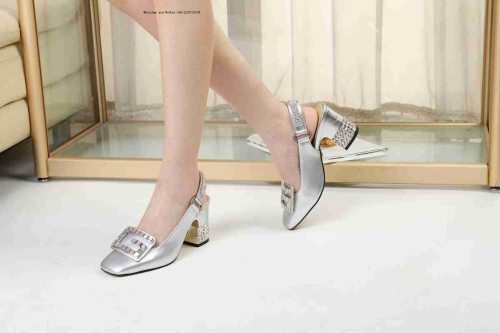 6914791e8cd0 2019 Letter Bow Knot High Heel Shoes Women Runway Pointed Toe Low Woman  Gladiaor Sandals Lady Brand Design Mesh Flat Oxford Shoes Ladies Shoes From  ...