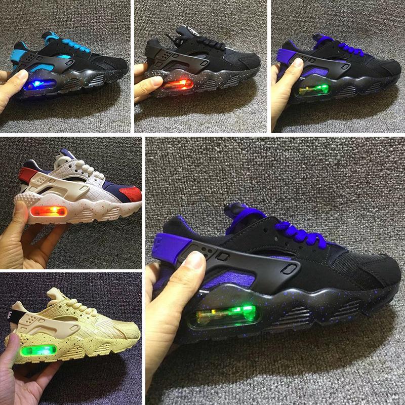 super popular 817f4 33774 Acquista Nike Air Huarache 2019 New Fashion Air Huarache Infantile Scarpe  Bambini Bambino Bambini Huaraches Huraches Designer Hurache Casual Bambino  In ...
