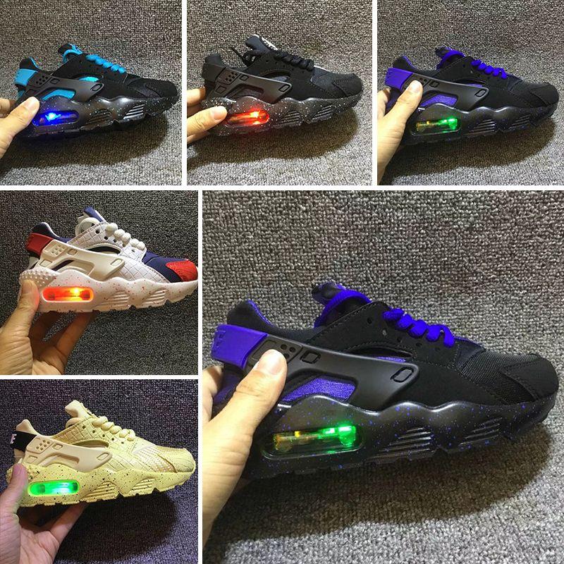 buy online aa3b5 486e8 Acheter Nike Air Huarache 2019 Nouveau Mode Air Huarache Infantile Chaussures  Enfants Bébé Enfants Huaraches Huraches Designer Hurache Casual Enfant  Running ...