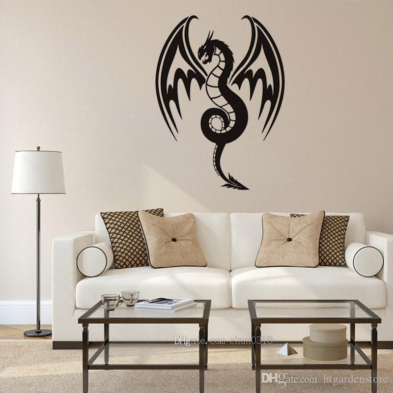 Acheter Hot Dragon Modèle Salon Bureau Décoration Murale Amovible