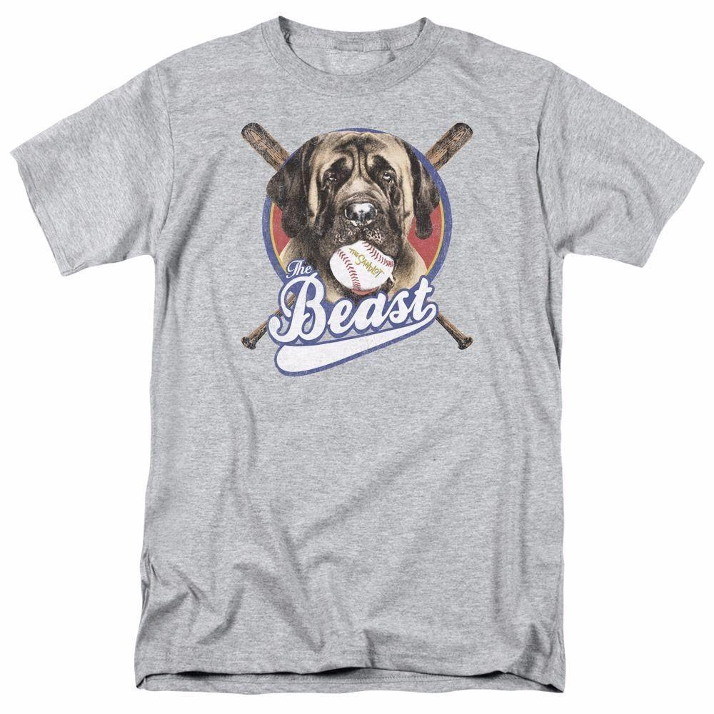 add74a50b056 The Sandlot Movie The Beast Licensed Adult T Shirt Design T Shirts Casual  Cool Summer The New Fashion For Short Sleeve T Shirts Vintage T Shirts Sale  From ...
