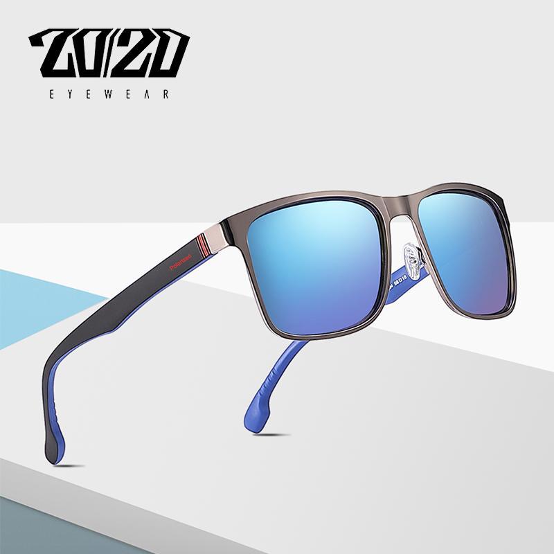 3f1ba61f08 20 20 Brand Design Classic Polarized Sunglasses Men Driving Blue ...