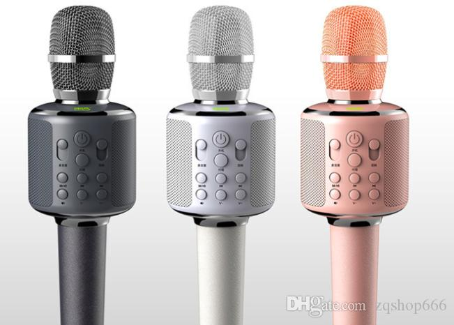 Capacitance microphone professional recording k song sapphire tooth  microphone car microphone karaoke voice changer male to female To report