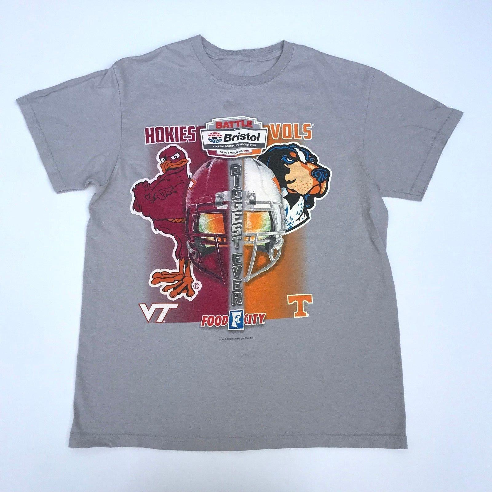 88cca0faa14 Vintage Graphic Printed T Shirt Hokies Vols USA College Football 2016   TS163 Custom T Shirt Logo Text Photo Mens T Shirts Only Awesome Tee From  ...