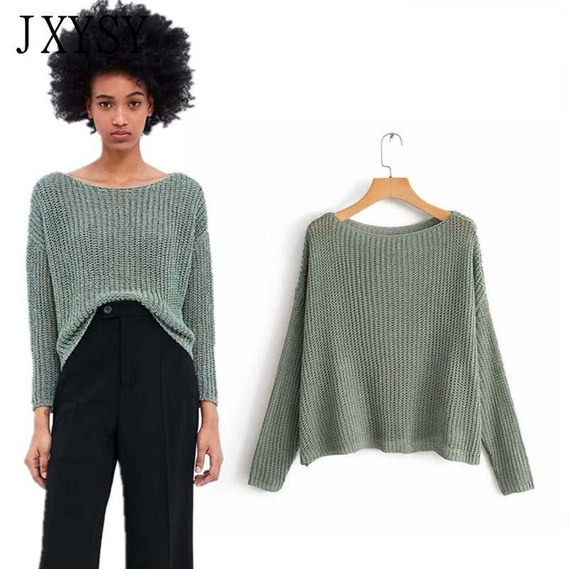 2019 JXYSY Winter Sweaters Women Cotton England Style Solid Pullovers  Jersey Mujer Invierno 2019 Women Sweaters From Beenni, $33.18
