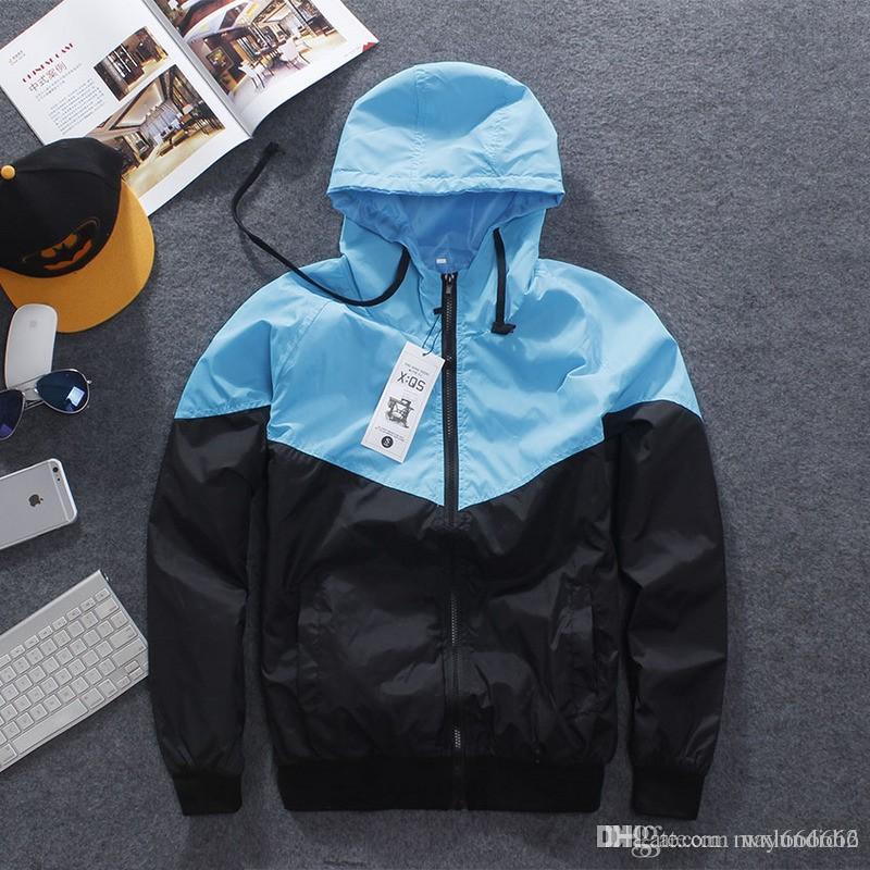 644d80c2adfc Men Jacket Autumn Patchwork Reflective 3m Jacket Sport Hip Hop Outdoor  Waterproof Windbreaker Men Coat Trend Brand Denim Sheepskin Jacket Denim  Wool Jacket ...