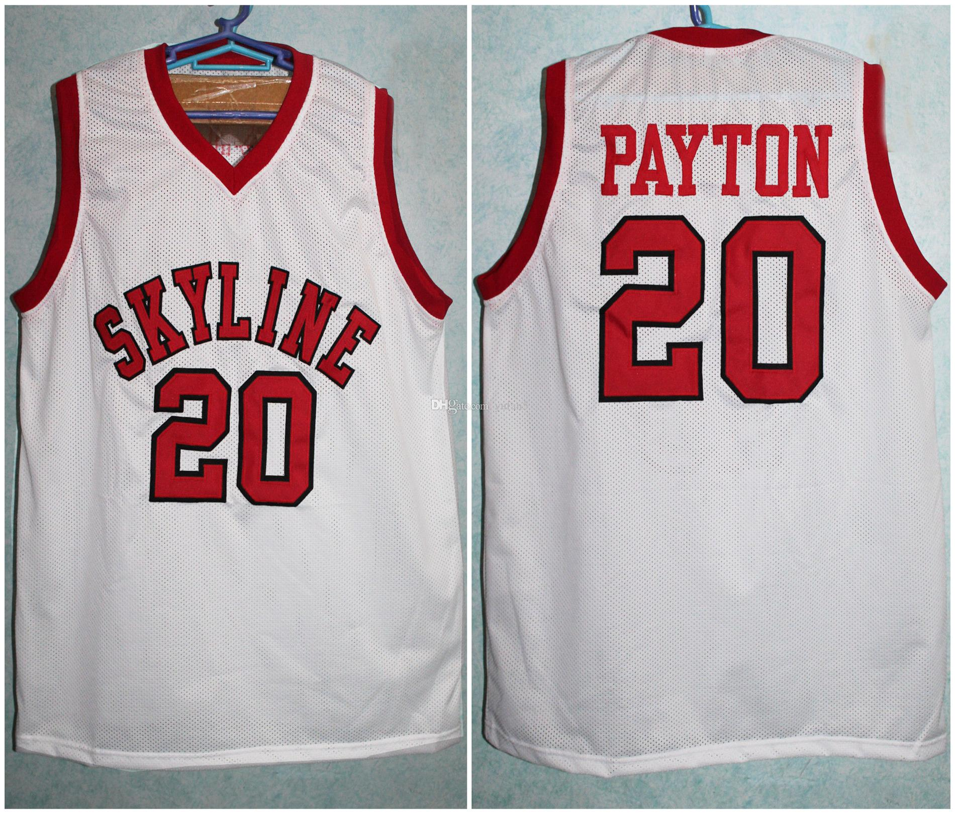 353ff49c 2019 Skyline High Schoo 20 Gary Payton Retro Classic Basketball Jersey Mens  Stitched Custom Number Name Jerseys From Yufan5, $23.35 | DHgate.Com