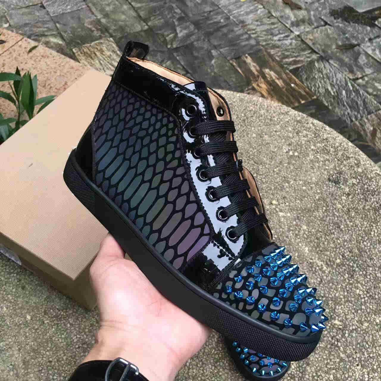 Red Sneakers Shoes for Men Casual Women luxury men Blue Crystal Outdoors red designer chaussures zapatillas 7fdd