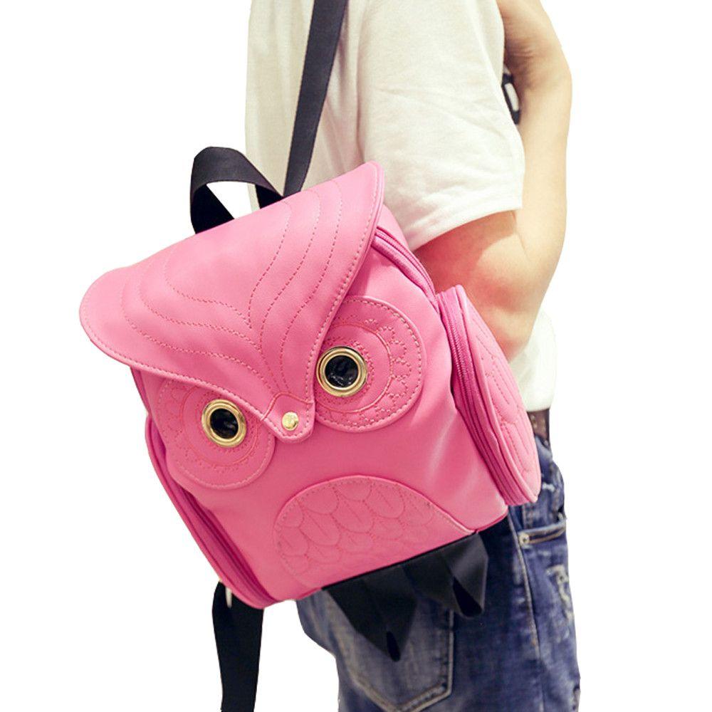 Aelicy Cute Owl Fashion Backpacks Cartoon Women Backpack Softback School Bags Teenage Backpacks for Girls Mochilas Mujer 2017