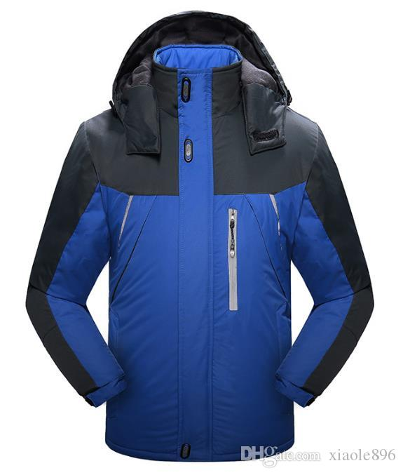 Winter Outdoor Mens Jackets waterproof warm ski suit fashion Men's outdoor sports jackets