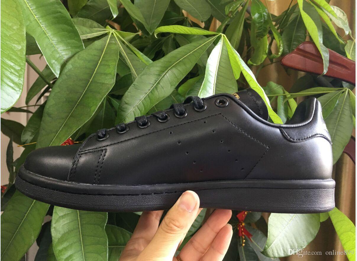 Scarpe A Poco Prezzo 2018 Originals Nuove Scarpe Stan Smith Marchio Di Alta  Qualità Donna Uomo Stan Scarpe Moda Smith Sneakers In Pelle Casual  Superstars ... 834f2a535f6