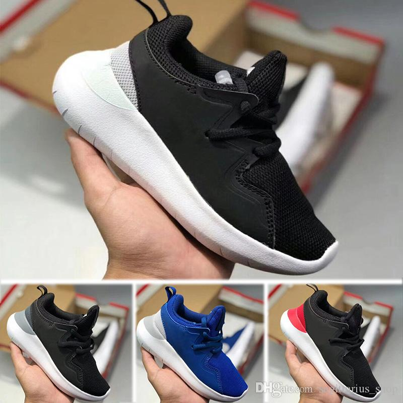outlet store 59d44 20a79 Acquista Nike Roshe Run Wholesale Run Bambini Uomo Donna Running Shoes  London Olympic Ros Nero Rosso Bianco Grigio Blu Outdoor Walking Sneakers  Scarpe ...