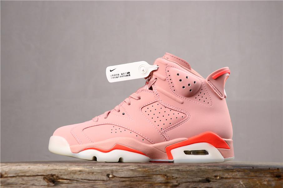 2019 New Top Hot Best Shoes OG Mens High Mid Low Basketball Womens Sneakers air 320jordan Warm AJ 6 CI0550-600 Red Pink White