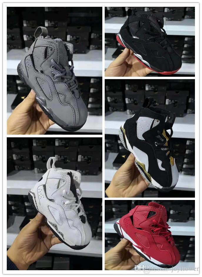 9cb1a2e28e2 Compre Nike Air Jordan Aj7 2018 7 S Crianças Tênis De Basquete Designer  Para Meninos Meninas 7 Calçados Esportivos Ao Ar Livre Crianças De Alta  Qualidade ...