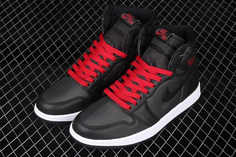 NKJ01A 2019 Hot sale Men Basketball Shoes 1 Retro High OG Satin WMNS Black Toe 8653jordan Sports Sneakers CD0461 016 CD0461 016 size36 45