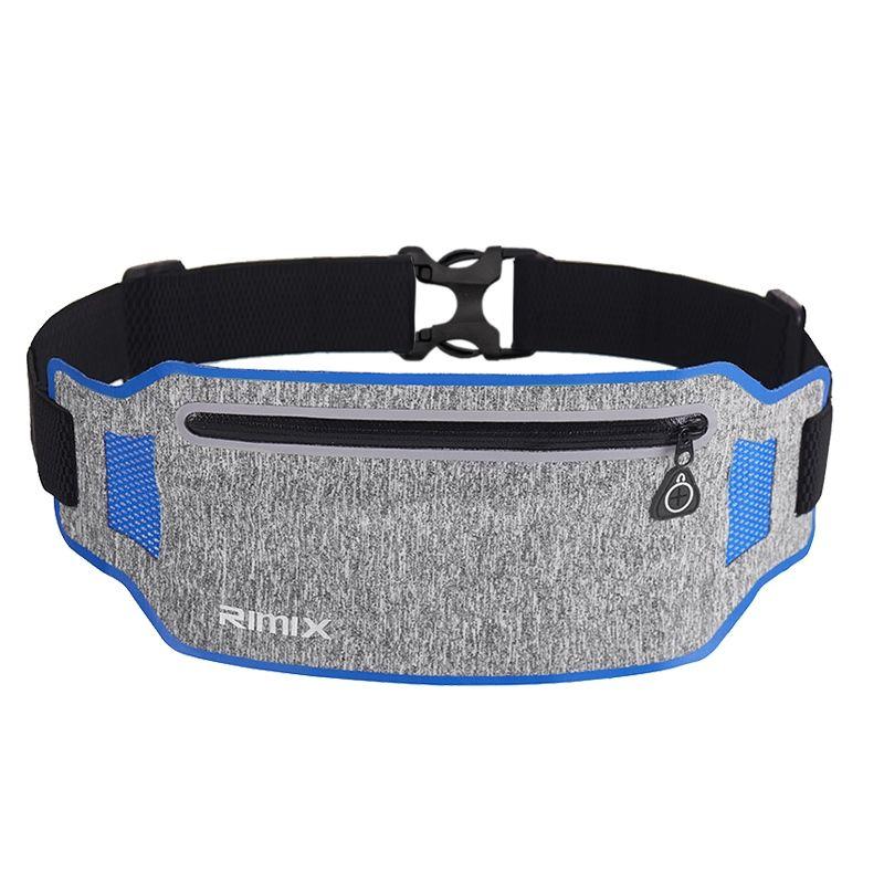 ec6630cb7207 IDOGEAR Running Belt Trail Waist Pack Fanny Pack Adjustable Hiking Sports  Headphone Hole Design Anti-slip Spandex belt BG3502-2 #953543