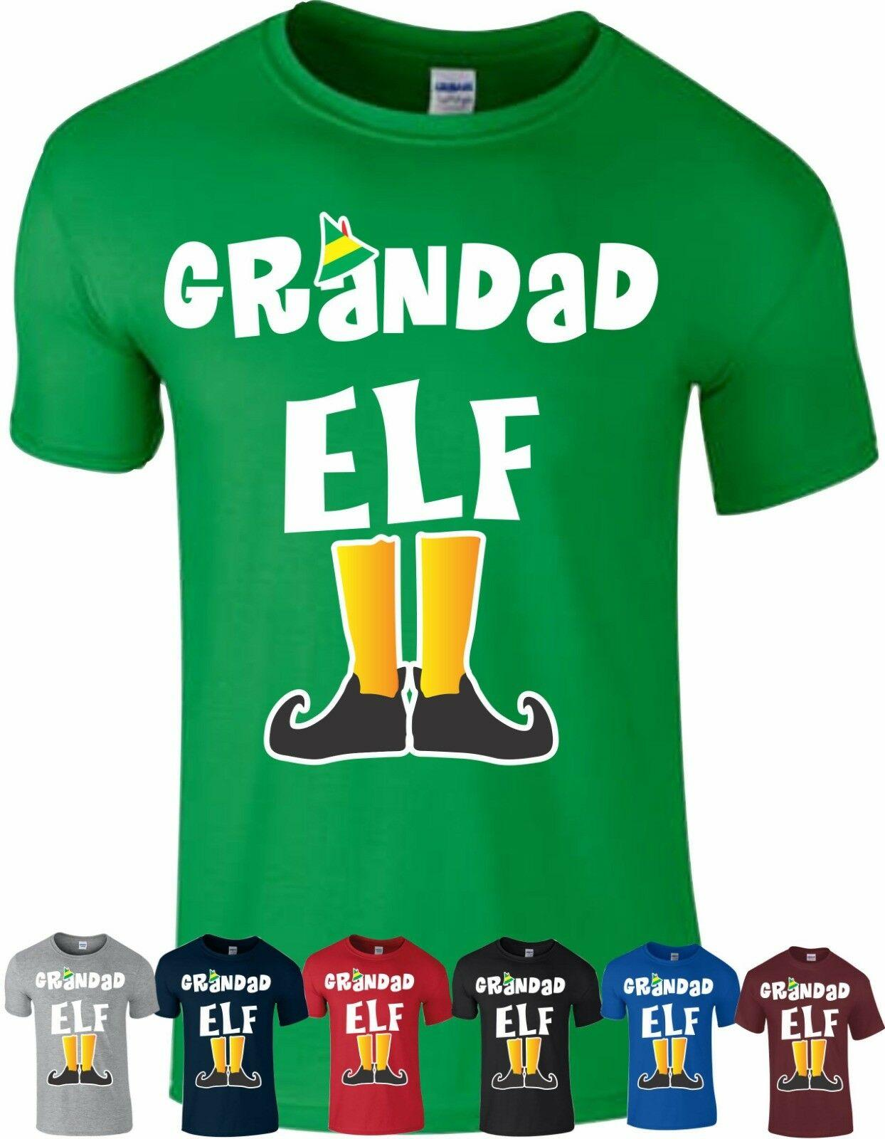 6dbb72ca9 Grandad Elf T Shirt Family Pyjama PJ'S Idea Dad Funny Christmas Xmas Gift  Top Men Women Unisex Fashion Tshirt Black T Shirts Funny Great T Shirts  From ...