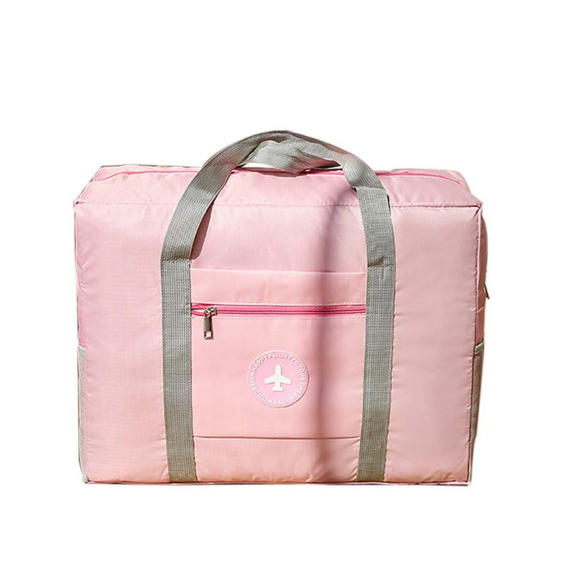 febce1486e Adisputent Waterproof Nylon Travel Bags Women Men Large Capacity Folding  Duffle Bag Organizer Packing Cubes Luggage Weekend Bag Gym Bags For Men Big  Bags ...