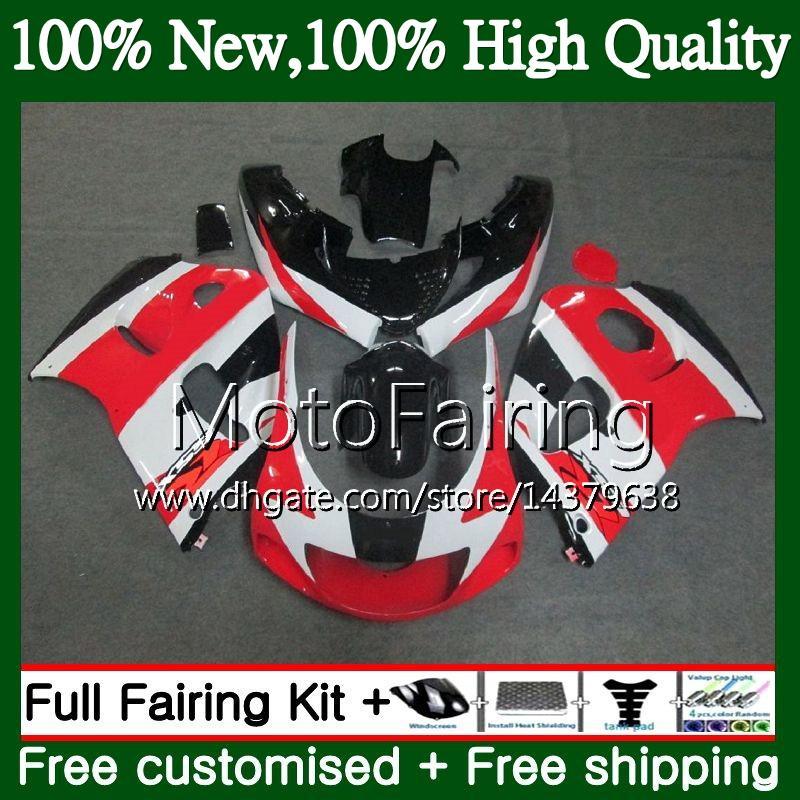 Body GSXR-600 For SUZUKI Red SRAD GSXR600 1996 1997 1998 1999 2000 5LQ28 GSX R600 GSXR750 GSXR 750 600 96 97 98 99 00 Fairing Bodywork