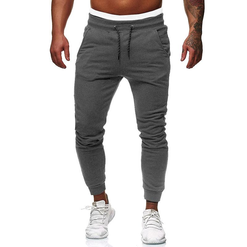 Men Long Casual Sports Pants Gym Jogging Trousers Running Jogger Gym Sweatpants