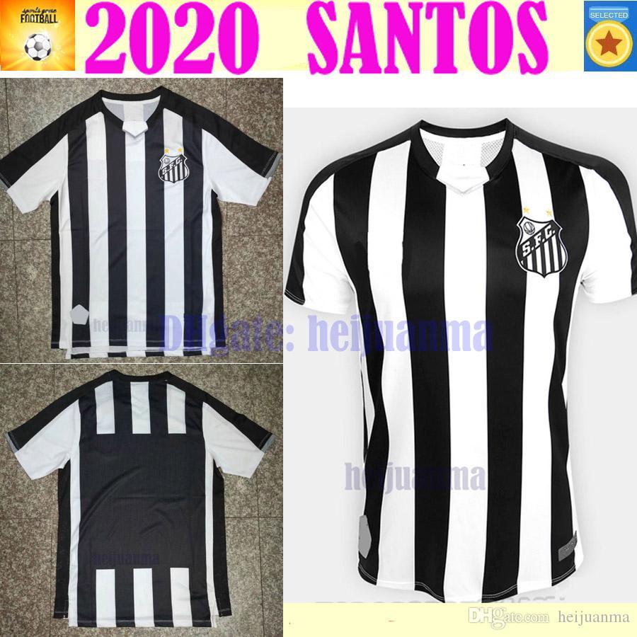 7bb72dab74d 2019 2020 Santos FC Soccer Jersey 19 20 Santos Home Away Gabriel RODRYGO  DODO RENATO SASHA Football Shirts From Heijuanma