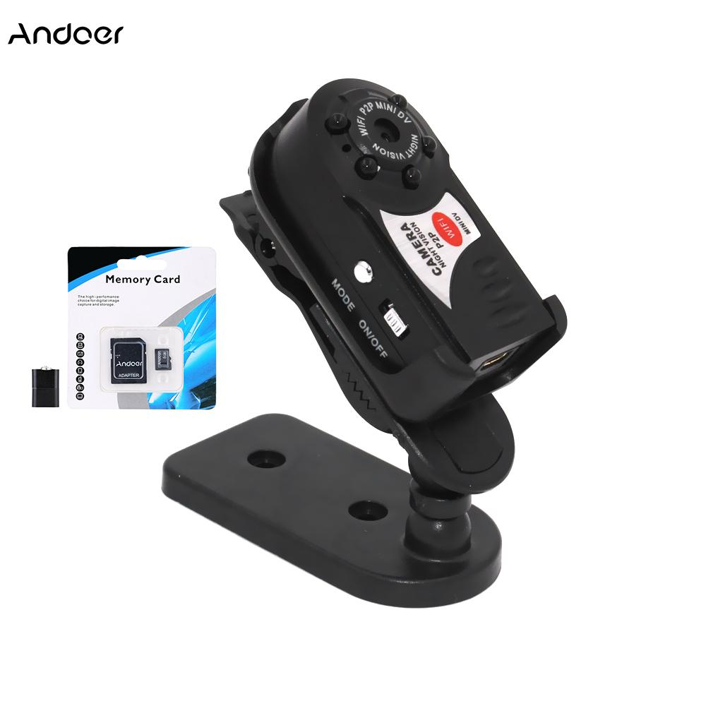 amcorders Mini Camcorders Q7 Mini Camera Wireless IP Cam Video Camcorder Wifi Infrared Night Vision Small Camera DV DVR Network Monitorin...