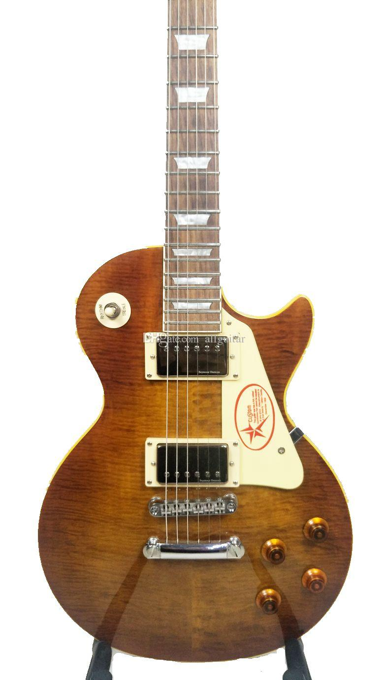 Standard guitar with original Seymour Duncan pickups senior custom made  Chinese electric guitars factory outlet limited edition