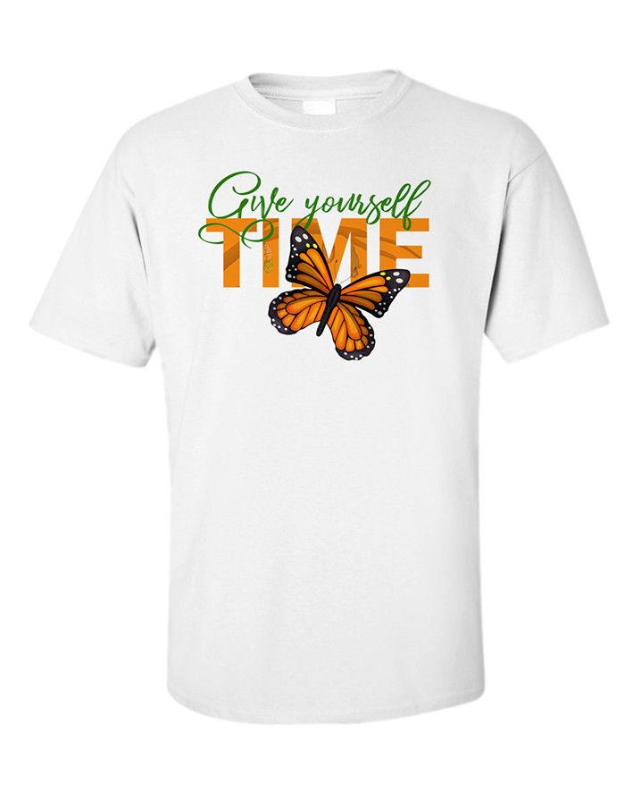 Life Quote T Shirt Butterfly Circle Of Life Give Yourself Time