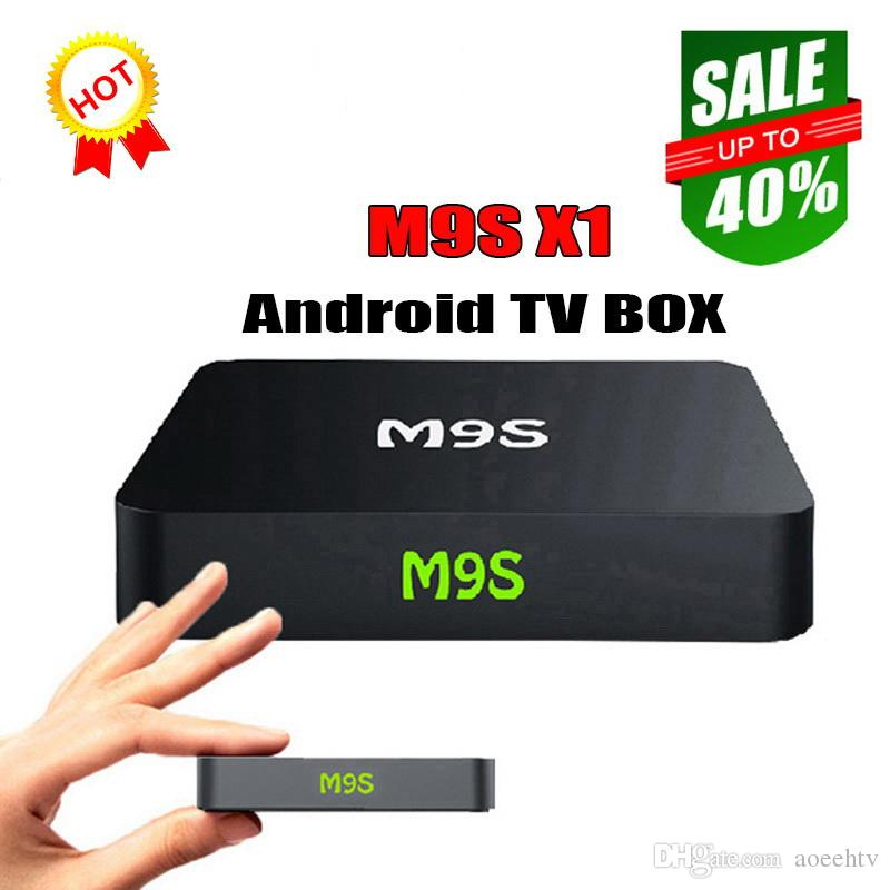 M9S X1 Android 6 0 TV BOX Smart Mini PC Amlogic S905X Quad Core H 265 Media  Player 2 4GHz Wifi HDMI 2 0A Game 1080P Better MXQ PRO