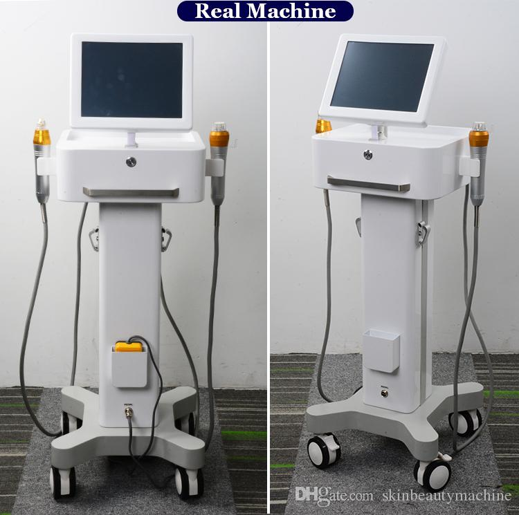مطلية بالذهب كسور RF تمتد علامات إزالة آلة مايكرو إبرة تنص المعالجة الجلدية العناية بالبشرة ماكينات التجميل للبيع