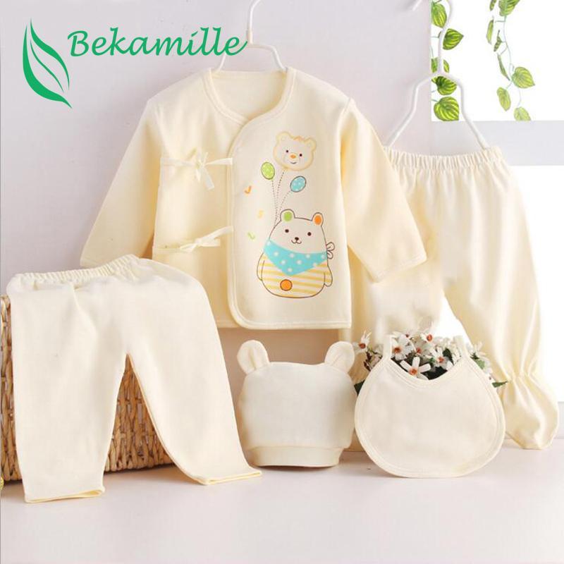 4c21237a2 2019 Newborn Baby Suits Pure Cotton Baby Fashion Underwear Sets ...