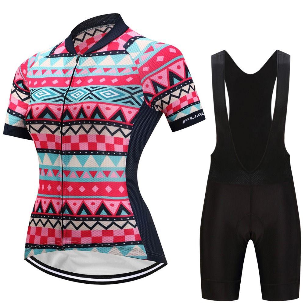 Cycling Women Bike Clothes 2019 Hot China Roupa Feminina Ciclismo Short  Sleeve Breathable Bicycle Clothing Bib Shorts Kit Mtb Shorts Cycle Shoes  From Hupiju ... a7abfd2ed