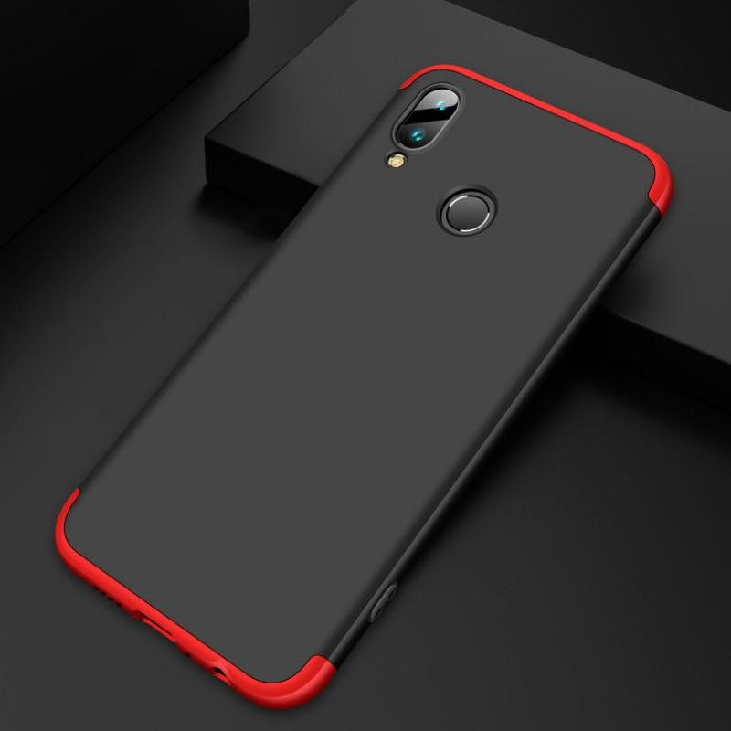 buy popular fc410 c4aaa Case For Huawei Y9 2019 Case Enjoy 9 Coque 3 in 1 Business Comprehensive  protection Phone Back Cover For Huawei Enjoy 9 Plus