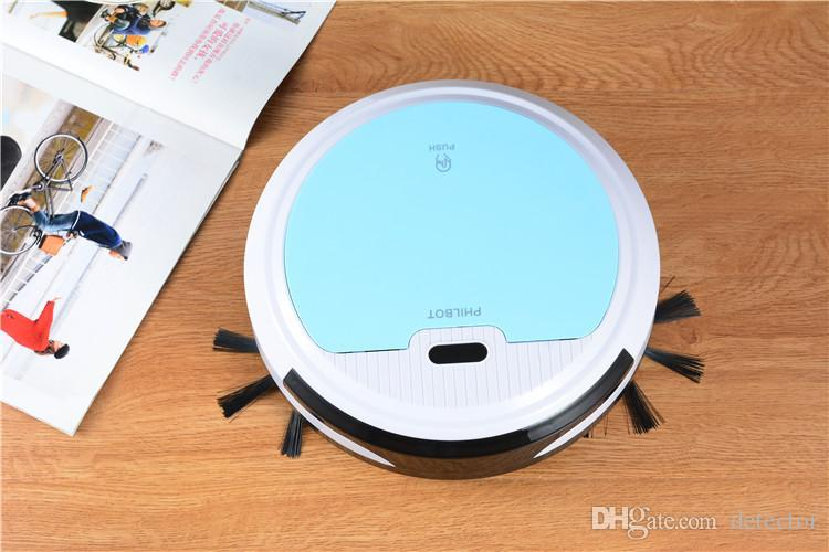 New Rechargeable Automatic Cleaning Robot Smart Sweeping Robot Vacuum Floor Dirt Dust Hair Cleaner Home Sweeping Machine Sweeper Epacket
