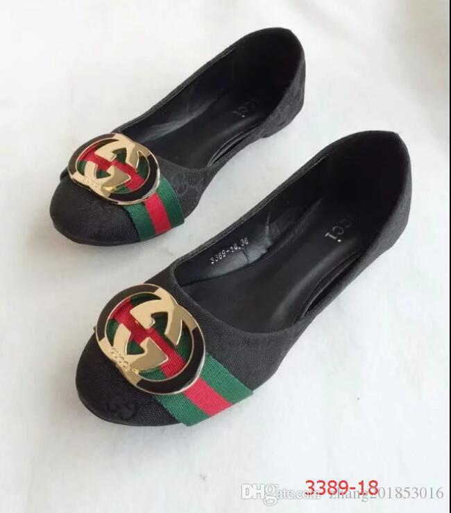 b33a1ce7126a Women Shoes GUCCI Slide Huaraches Fashion Designer Shoes Sneakers For  Wearing By Shoe Stylish Ladies Flats Mens Shoes Loafers From  Zhang201853016