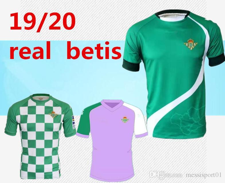 99d4ad855c7ca 2019 2019 20 Real Betis Soccer Jerseys Lo Celso Joaquín Futbol Camisetas  Football Camisa Vintage Shirt 19 20 Real Betis Classic Maillot From  Messisport01