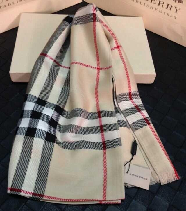 Triangle Pattern Geo Cashmere Feel Scarves with Tassels for Men Women