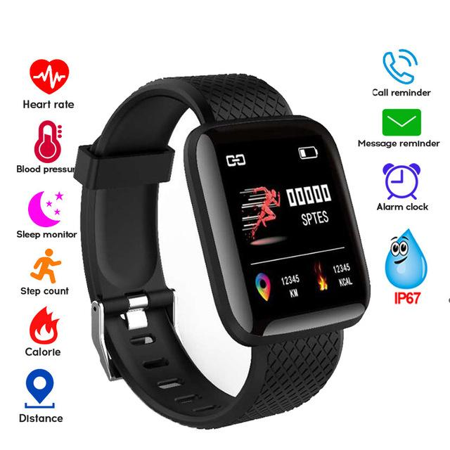 2019 Sports Bracelet Waterproof Anti-lost Smart Bracelet Blood Pressure Monitoring ECG Fitness Tracker Smart Band PK mi band 3