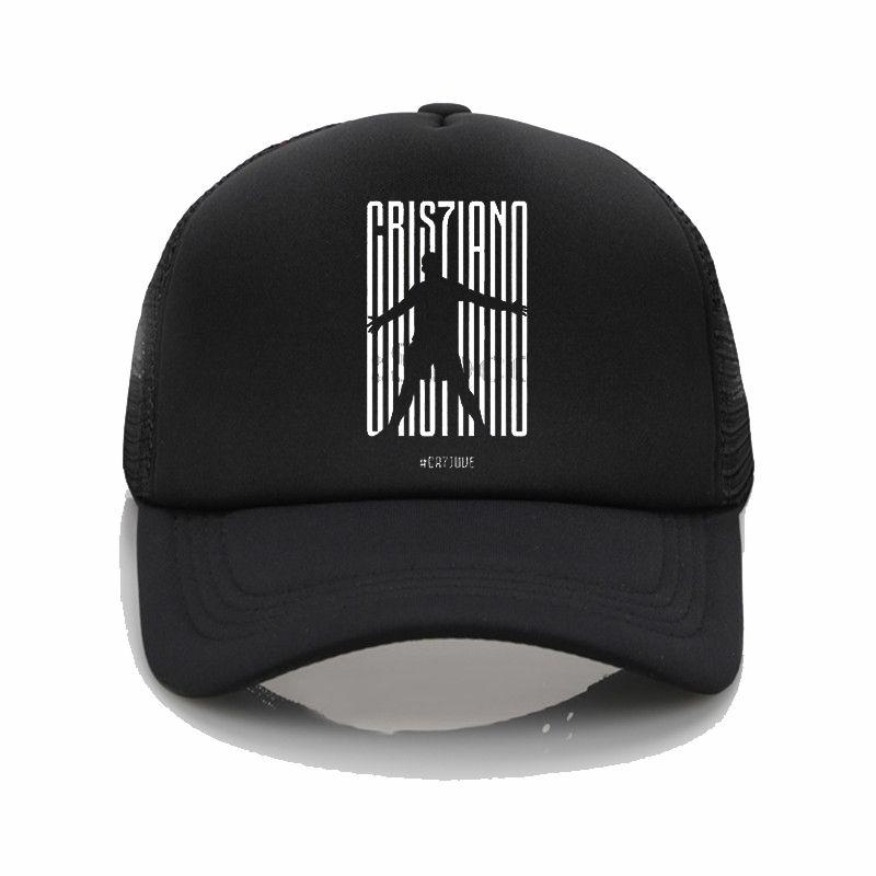 d92077d95d2310 CR7 JUVE Logo Print Hats Summer Mesh Sun Caps CR7 JUVE Pattern Printing  Baseball Hats Couple Fashion Hip Hop Hat Flat Caps Trucker Caps From  Menceng1986, ...