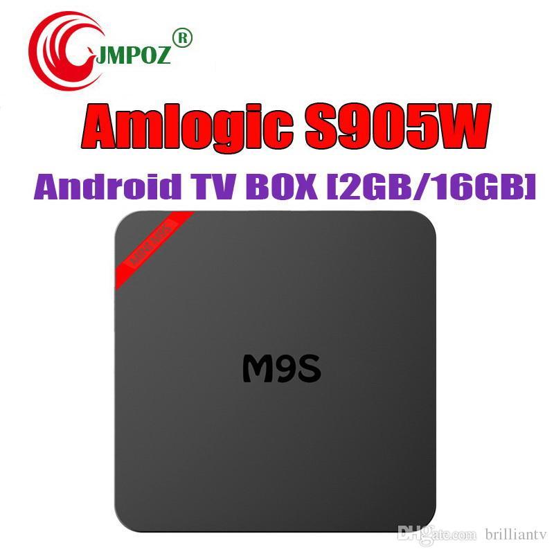 Hot M9S Mini Android TV Box 2GB 16GB Android 7 1 Amlogic S905W Quad Core  Ultra HD 4K Streaming Media Player Better MXQ Pro RK3229